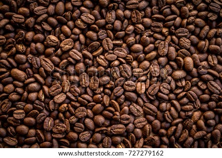 Roasted coffee beans background #727279162