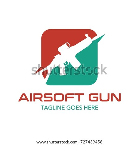Unique Air Soft Gun Logo