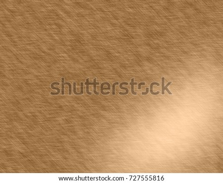 Gold metal brushed background or texture #727555816