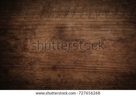 Old grunge dark textured wooden background,The surface of the old brown wood texture #727656268