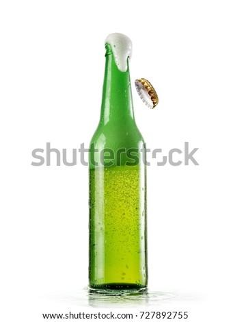 Opening beer bottle #727892755