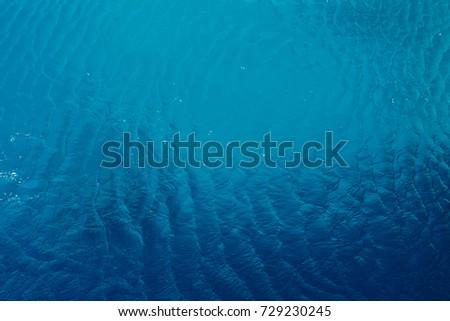 blue ocean water background #729230245