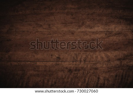 Old grunge dark textured wooden background,The surface of the old brown wood texture #730027060