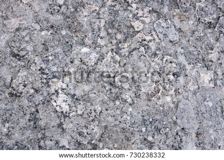 Detailed grey rocky texture as natural background #730238332