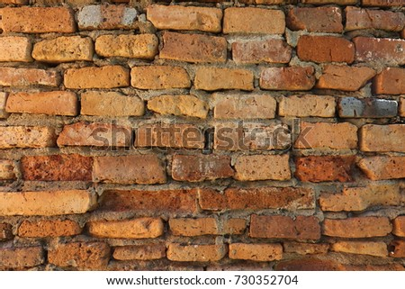 Old brick wall background. #730352704