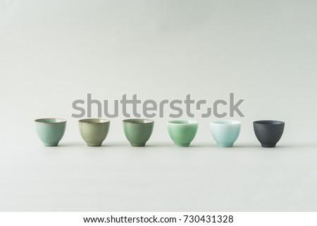 ceramic tea cup  #730431328