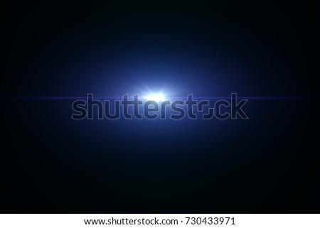 Lens Flare or Light Flare  #730433971