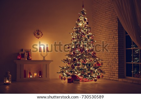 House in Christmas  #730530589