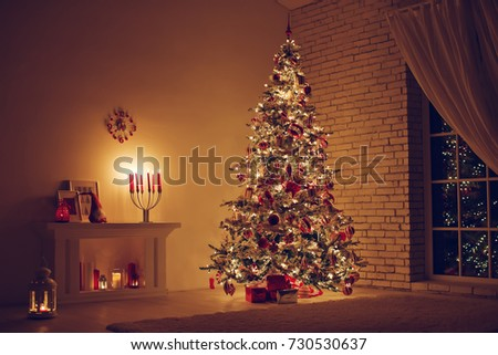 House in Christmas  #730530637