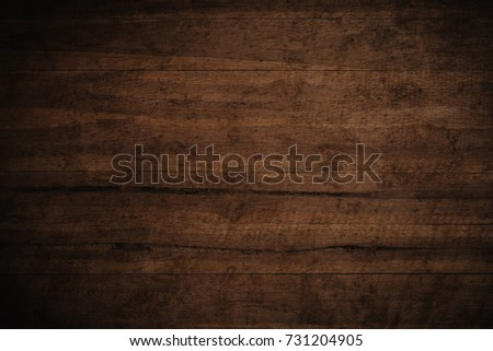 Old grunge dark textured wooden background,The surface of the old brown wood texture #731204905