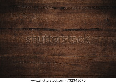 Old grunge dark textured wooden background,The surface of the old brown wood texture #732343090