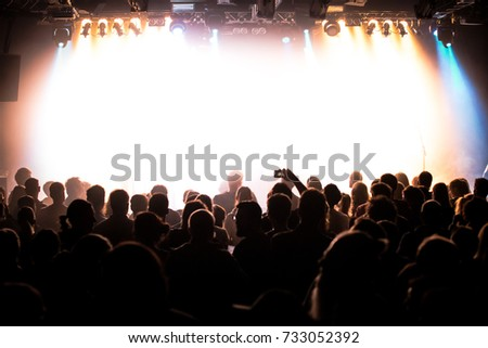 People at a concert #733052392