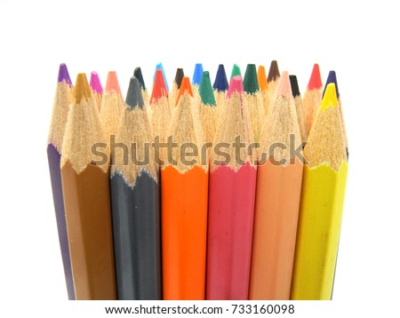 Wooden Color Pencils #733160098