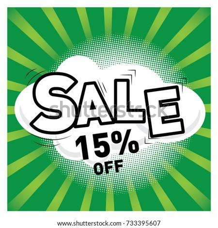 Super Sale, Banner, Promotion, Big sale, clearance. Vector illustration. #733395607