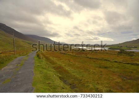 Connemara national park, natural beauty, Ireland  #733430212