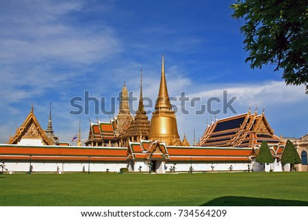 grand palace in Thailand #734564209