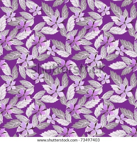 Seamless lilac background about flowers #73497403