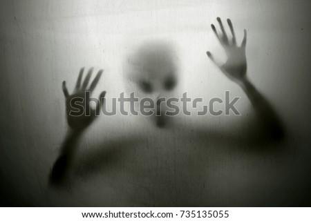 Alien Royalty-Free Stock Photo #735135055