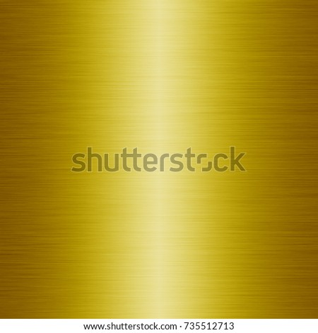 Gold metal plate texture background or yellow stainless abstract #735512713