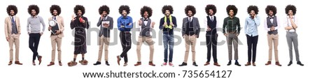Group of afro #735654127
