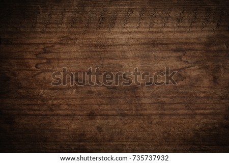 Old grunge dark textured wooden background,The surface of the old brown wood texture #735737932