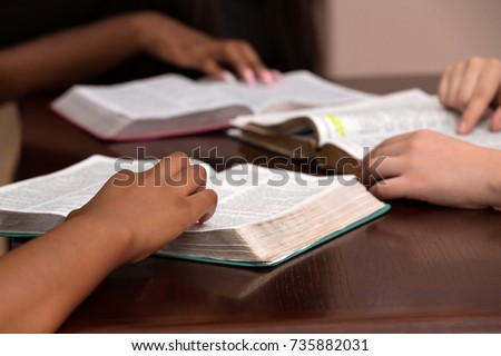 Studying the Word Of God With Friends #735882031