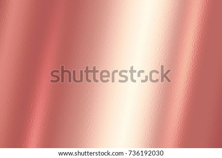 Gold foil texture background. Realistic golden vector elegant, shiny and metal gradient template for gold border, frame and ribbon design. #736192030