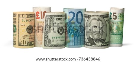 Currency. Royalty-Free Stock Photo #736438846