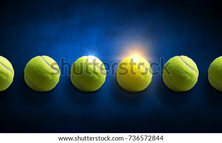 Big tennis minimal design #736572844