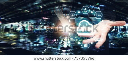 Cloud Computing service, Cloud application manage file sharing in data center for network security computer #737353966