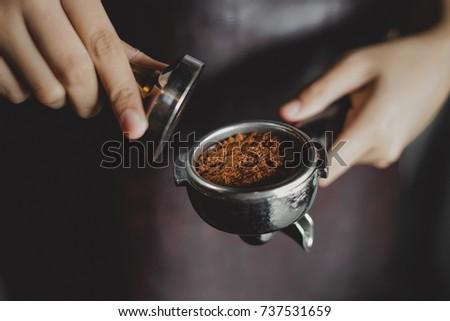 Espresso Tamping #737531659