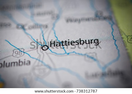 hattiesburg, Mississippi. #738312787