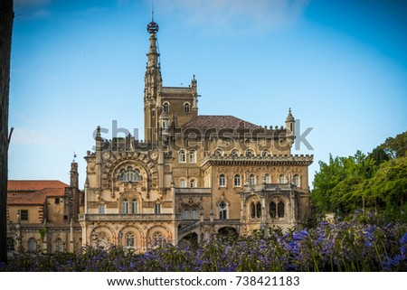 Bussaco's palace. Coimbra. Portugal #738421183