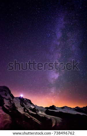 Milky Way on the sky #738496762