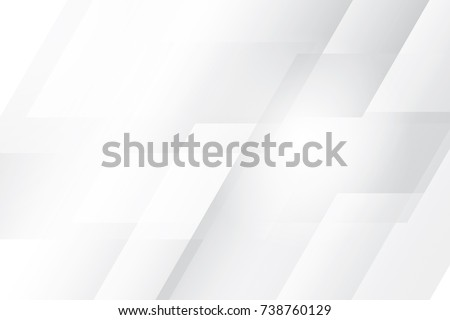 Abstract geometric white and gray color background, vector illustration. Royalty-Free Stock Photo #738760129
