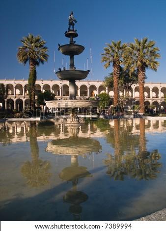 Plaza De Armas – Arequipa, Peru #7389994