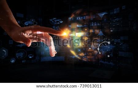 Creating innovative technologies. Mixed media #739013011