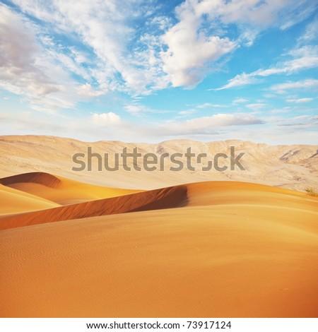 Gobi desert #73917124