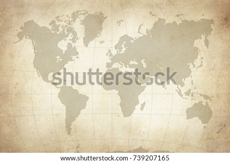 map of the world Royalty-Free Stock Photo #739207165
