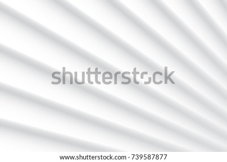 Abstract geometric white and gray color background, vector illustration. #739587877