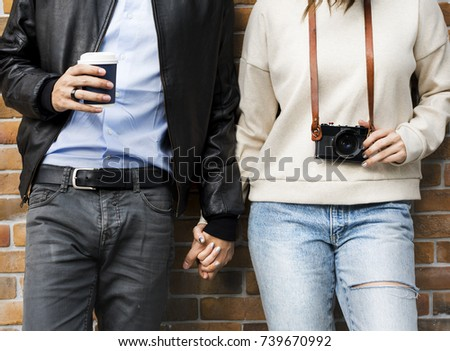 Couple Dating Happiness Enjoyment Holiday #739670992