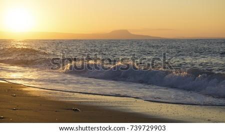Sunset in Crete. #739729903