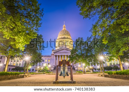 West Virginia State Capitol in Charleston, West Virginia, USA. #740138383