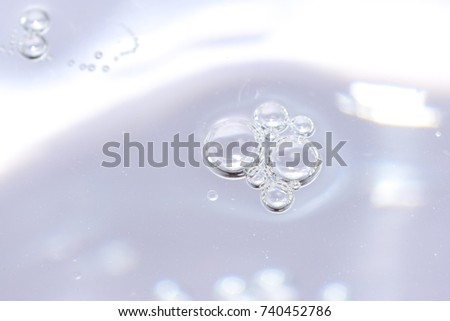 bubbles with abstract white gradient background #740452786
