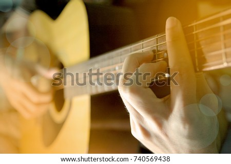Playing Guitar music long play #740569438