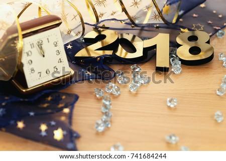 Happy New Year 2018 #741684244