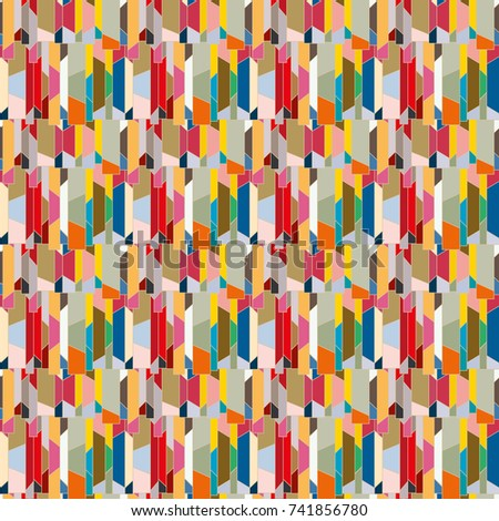 Abstract color seamless pattern for new background. #741856780