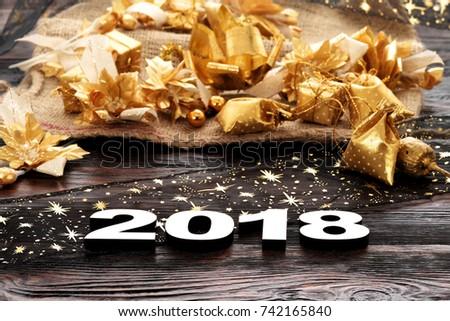 Happy New Year 2018 #742165840