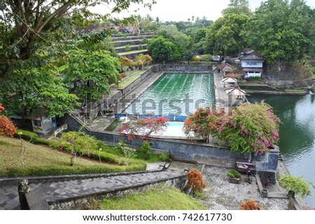 Narmada park complex, Lombok, Indonesia #742617730