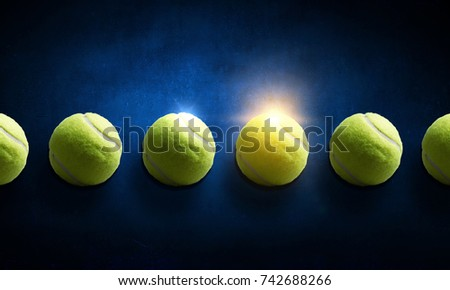 Big tennis minimal design #742688266